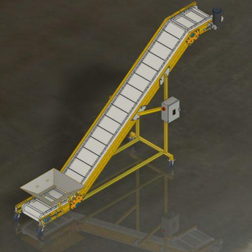 Z Tipe Modular Belt Conveyor